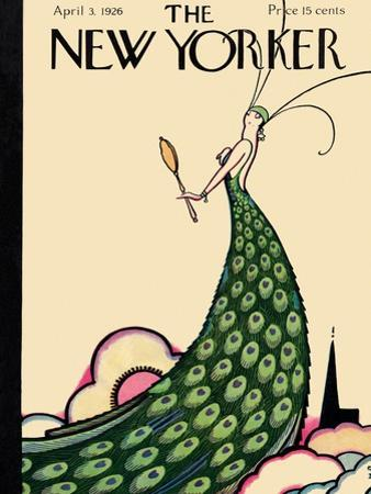 The New Yorker Cover - April 3, 1926 by Rea Irvin