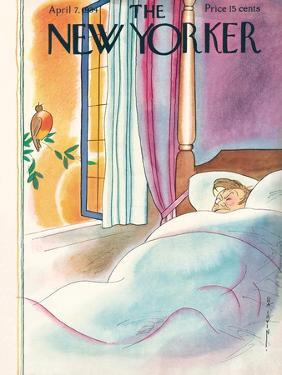 The New Yorker Cover - April 7, 1934 by Rea Irvin