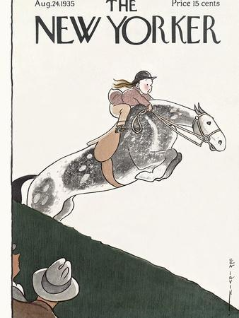 The New Yorker Cover - August 24, 1935