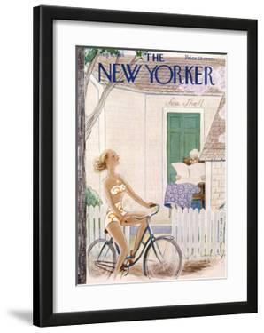 The New Yorker Cover - August 6, 1955 by Rea Irvin