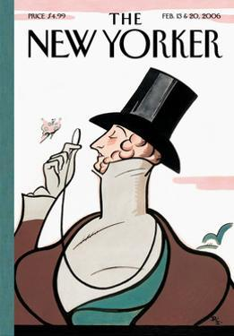 The New Yorker Cover - February 13, 2006 by Rea Irvin