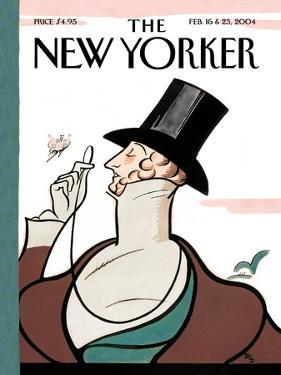 The New Yorker Cover - February 16, 2004 by Rea Irvin