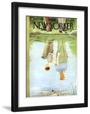 The New Yorker Cover - July 12, 1958 by Rea Irvin