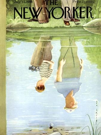 The New Yorker Cover - July 12, 1958