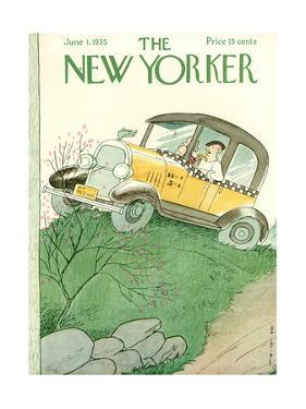 The New Yorker Cover - June 1, 1935 by Rea Irvin