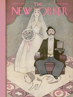 The New Yorker Cover - June 11, 1927 by Rea Irvin