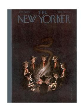 The New Yorker Cover - June 16, 1951 by Rea Irvin