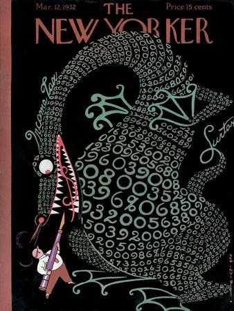 The New Yorker Cover - March 12, 1932