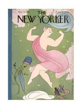 The New Yorker Cover - May 14, 1927 by Rea Irvin