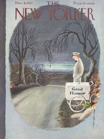 The New Yorker Cover - November 8, 1947 by Rea Irvin