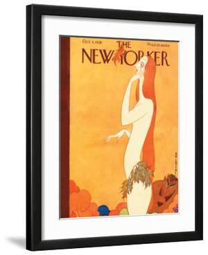 The New Yorker Cover - October 4, 1930 by Rea Irvin