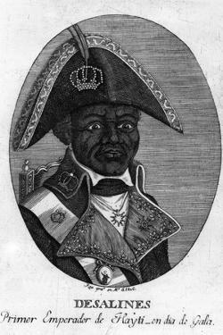 Jean-Jacques Dessalines, Emperor of Haiti, 1806 by Rea