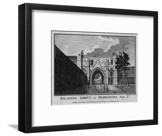 Reading Abbey, Berkshire--Framed Giclee Print