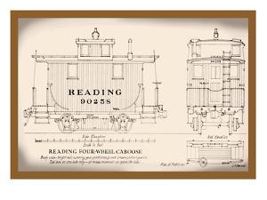 Reading Four-Wheel Caboose