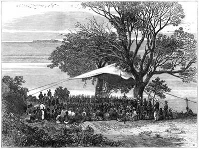 Reading the Ultimatum on the Banks of the Tugela, the Zulu War in the South, 1879