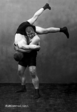 Ready to Drop: Russian Wrestlers