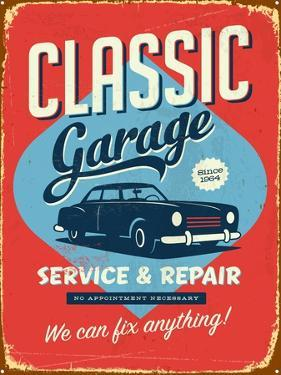 Vintage Design -  Classic Garage by Real Callahan