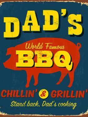 Vintage Design -  Dad's BBQ by Real Callahan