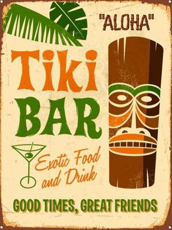 Vintage Design -  Tiki Bar by Real Callahan