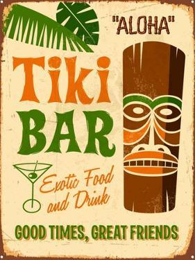 Vintage Design -  Tiki Bar by Real Callahan