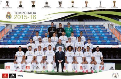 Real Madrid- Team 2015