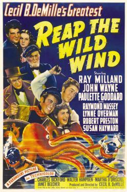 Reap the Wild Wind, Ray Milland, Paulette Goddard, 1942