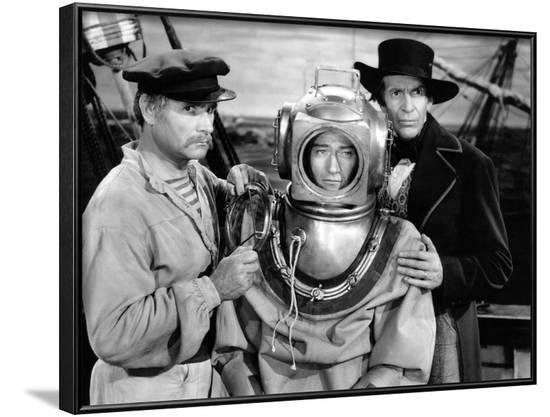 Reap The Wild Wind, Victor Varconi, John Wayne, Raymond Massey, 1942--Framed Photo