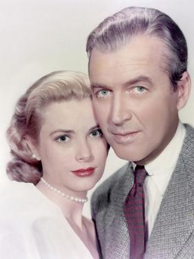 REAR WINDOW, 1954 directed by ALFRED HITCHCOCK Grace Kelly and James Stewart (photo)