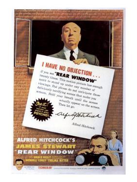 Rear Window, Alfred Hitchcock, James Stewart, Grace Kelly, 1954