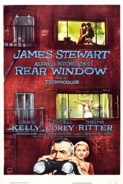 Rear Window, Grace Kelly, James Stewart, 1954
