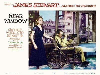 Rear Window, Grace Kelly, James Stewart, 1954