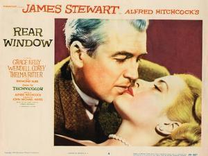 Rear Window, L-R: James Stewart, Grace Kelly, 1954