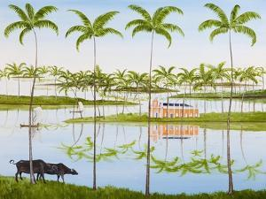 Balmy Backwaters, 2014 by Rebecca Campbell