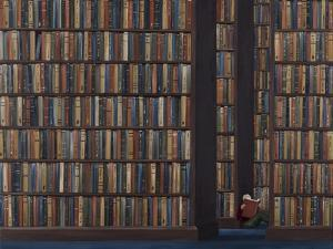 The Book Worm by Rebecca Campbell