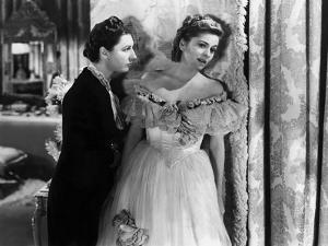 Rebecca d'Alfred Hitchcock with Judith Anderson and Joan Fontaine, 1940 (d'apres Daphne du Maurier)