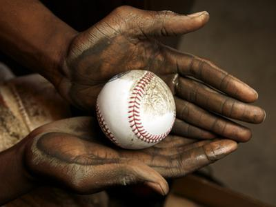 Balls are rubbed with mud before every major league baseball game by Rebecca Hale
