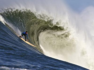 Mavericks Surf Competition 2010, Half Moon Bay, California, Usa by Rebecca Jackrel