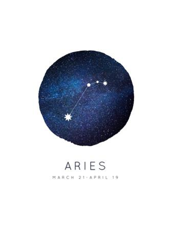 Aries Zodiac Constellation by Rebecca Lane