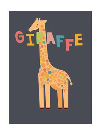 Bold Giraffe by Rebecca Lane