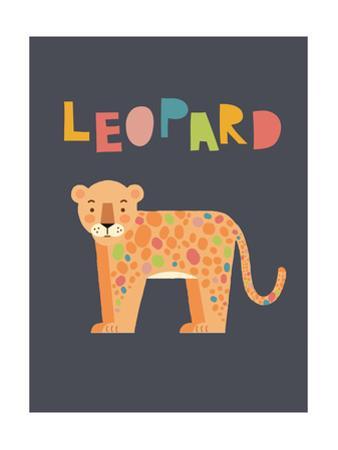 Bold Leopard by Rebecca Lane