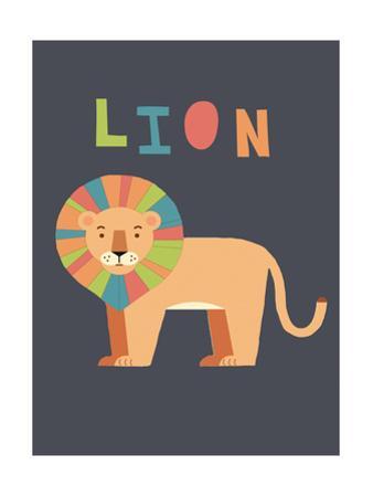 Bold Lion by Rebecca Lane