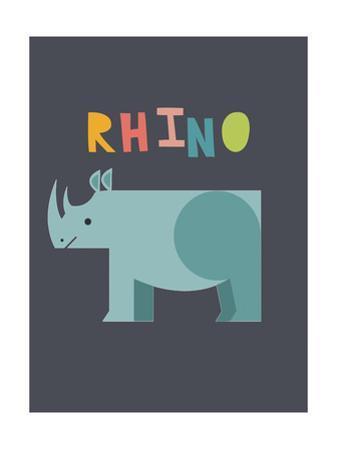 Bold Rhino by Rebecca Lane