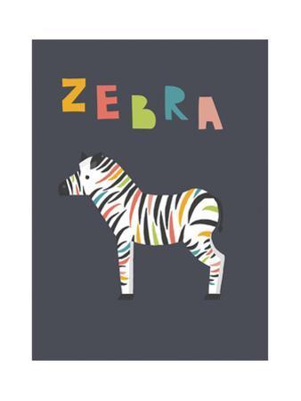 Bold Zebra by Rebecca Lane