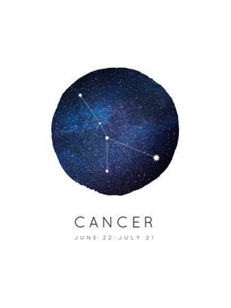 Cancer Zodiac Constellation by Rebecca Lane