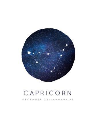 Capricorn Zodiac Constellation by Rebecca Lane