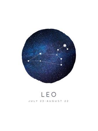 Leo Zodiac Constellation by Rebecca Lane
