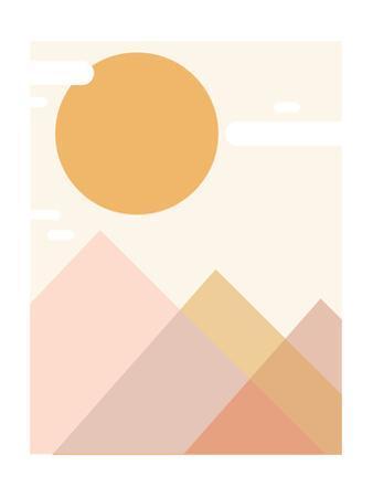 Mountain Range by Rebecca Lane