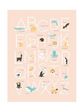 Pink Alphabet by Rebecca Lane