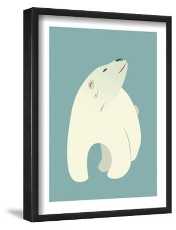 Polar Bear Print by Rebecca Lane
