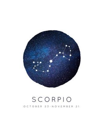 Scorpio Zodiac Constellation by Rebecca Lane
